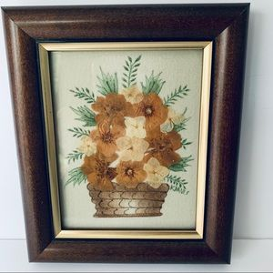 Other - Framed Pressed Flower Theorem Painting